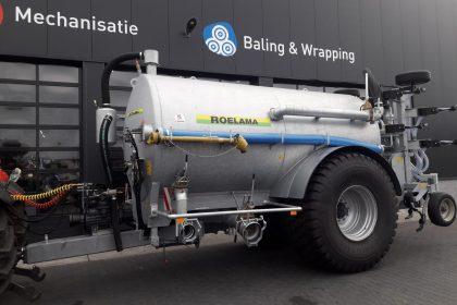 Nieuwe Roelama tank + bemester afgeleverd